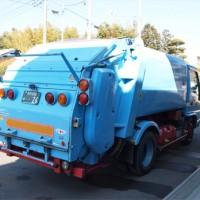 ダンパー(廃棄物処理車) 小型パッカー車(2t車) 斜め後ろ